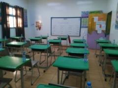 إنطلاق الاختبارات للفصل الدراسي الاول بمدارس قنا للبنات